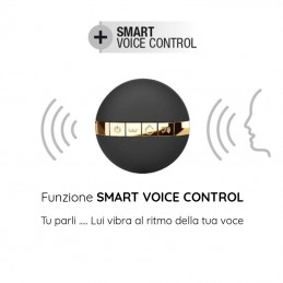 ovetto vibrante wireless controllo vocale