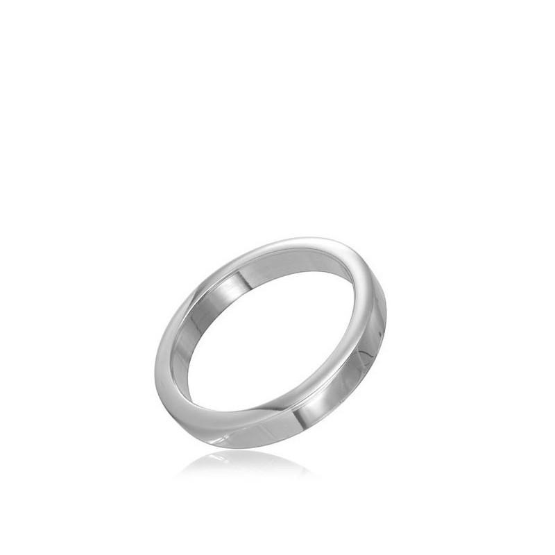 cock ring in acciaio da 3,5 cm
