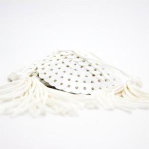 copricapezzoli bianchi con paiettes a forma di cuore