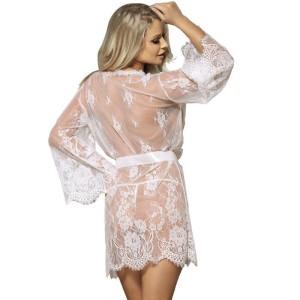 vestaglia bianca trasparente subblime