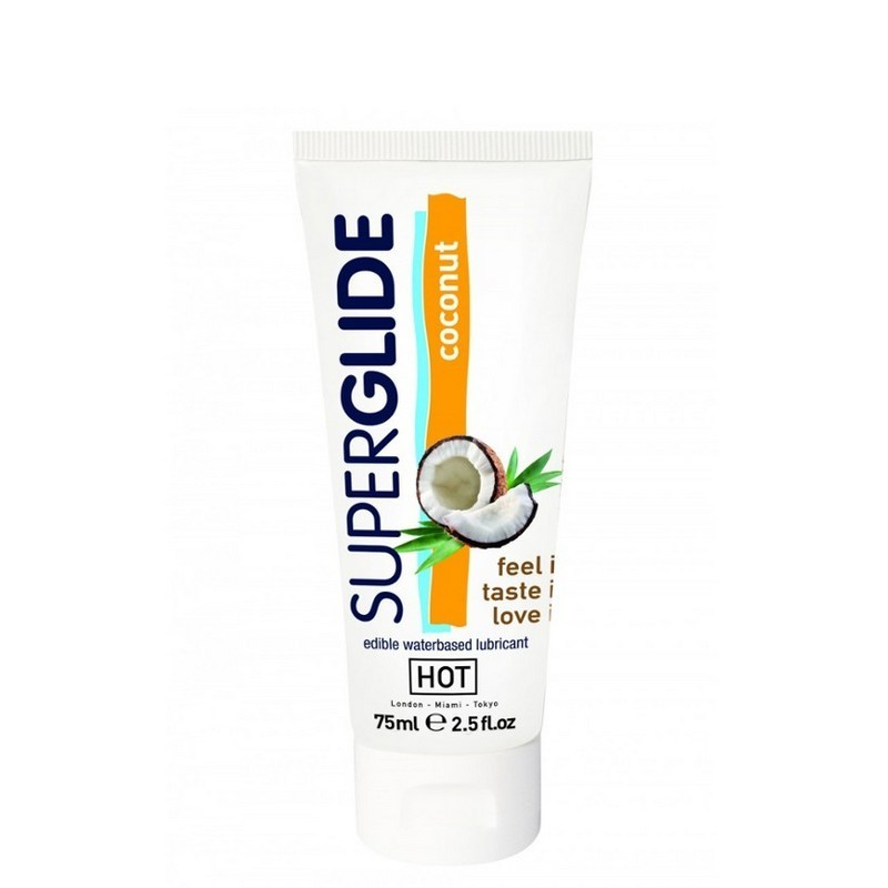 lubrificante commestibile cocco superglide 75 ml
