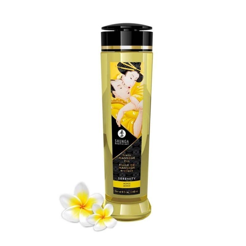 olio da massaggio monoi shunga