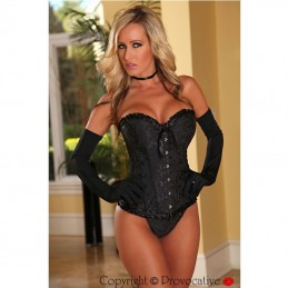 PROVOCATIVE CORSETTO NERO