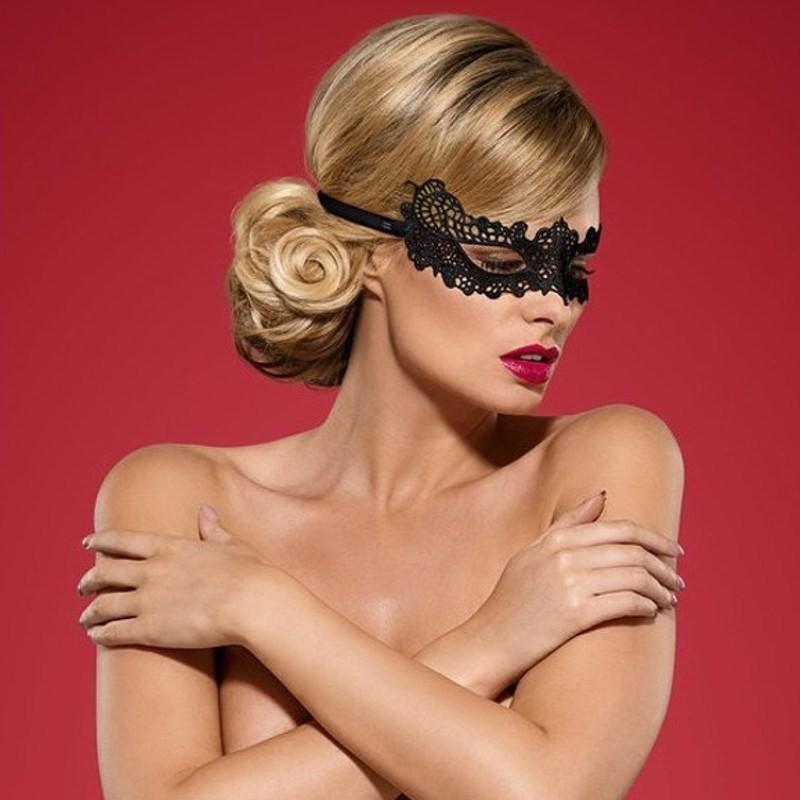 maschera per occhi obsessive