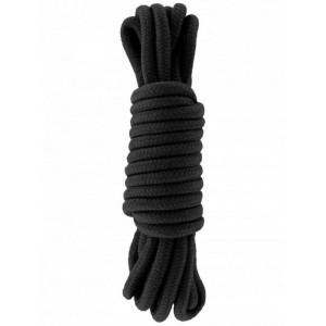 corda bondage nera da 5 metri