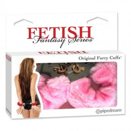 ORIGINAL FURRY CUFFS PINK