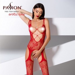 bodystocking rossa bs075