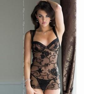 chemise sexy trasparente ana softline