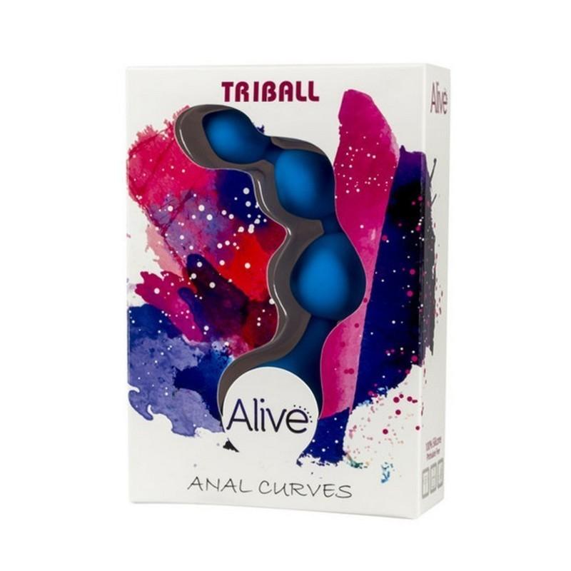 palline anali in silicone alive triball