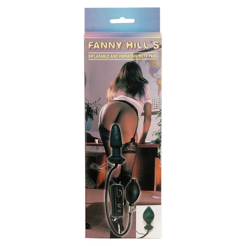 fanny hill's plug anale gonfiabile vibrante