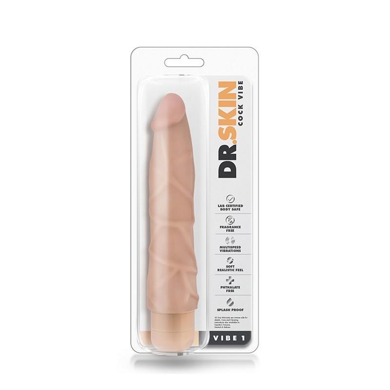 vibratore realistico dr skin